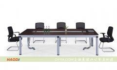 钢架板式会议桌昊迪上海办公家