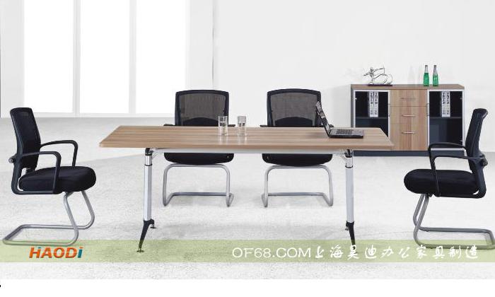 小型辦公室使用辦公家具之板式會議桌