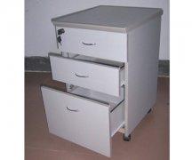 灰白色三抽常用款活动柜