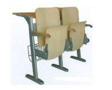优质防火板钢木结构大学生课桌