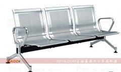 散银色加厚冷轧钢板等候排椅