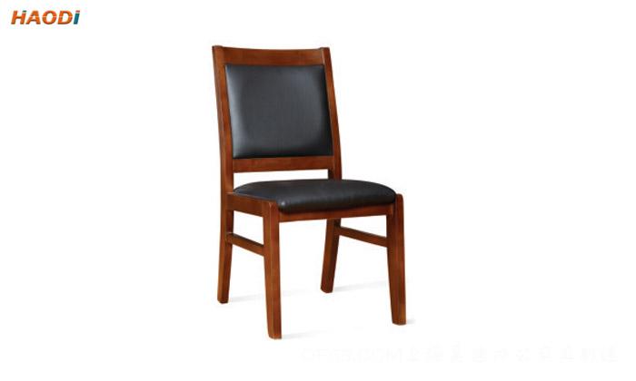 常用款实木无扶手会议椅