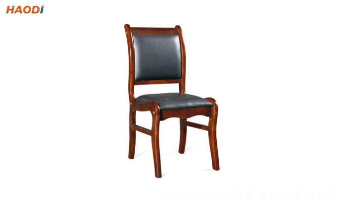 办公椅系列 实木会议椅