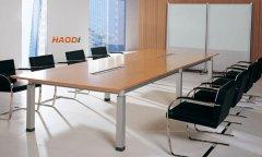雅致清透款板式会议桌