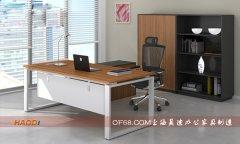 最新款优质环保板式主管桌